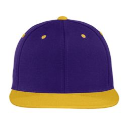 Adult Flat Bill Snapback Cap Thumbnail