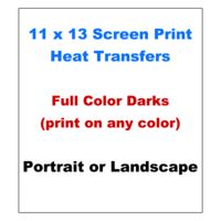 11x13 Full-Color Screen Print Transfer (Print On Any Colored Garment) Thumbnail