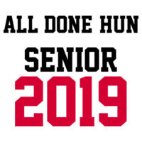 ALL DONE SENIOR 2019 Design