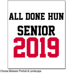 ALL DONE SENIOR 2019 Thumbnail