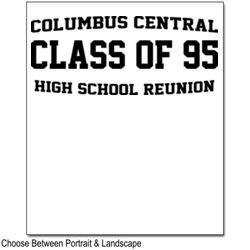 HIGH SCHOOL REUNION DESIGN  Thumbnail