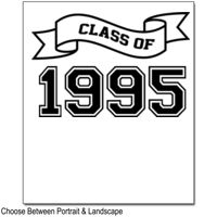 CLASS OF YEAR RIBBON DESIGN  Thumbnail